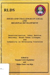 issues and challenges in local and regional