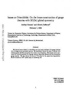 Issues on Orientifolds: On the brane construction of gauge theories ...