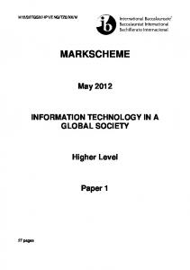 ITGS HL paper 1 - BMISITGSclass2011-12
