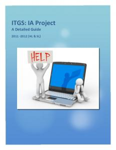 ITGS: IA Project - ITGS (G12)