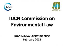 IUCN Commission on Environmental Law