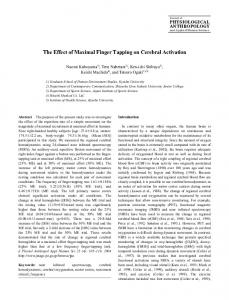 J Physiol Anthropol Appl Human Sci 23 (4): 105 ... - Semantic Scholar