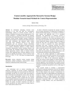 J Physiol Anthropol Appl Human Sci 23(6): 277 ... - IIT Institute of Design