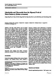 Jaboticabin and Flavonoids from the Ripened Fruit of ... - Springer Link