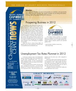 January 2012 - Mount Vernon Chamber of Commerce