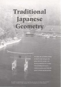japanese Temple Geometry Problems - Singapore Mathematical ...