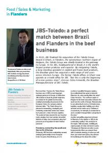 JBS-Toledo - Flanders Foreign Investment Office