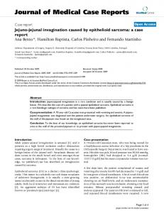 Jejuno-jejunal invagination caused by epithelioid sarcoma: a case report