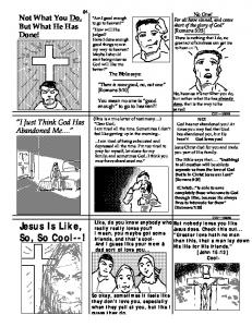 Jesus Is Like, So, So Cool--! - Tracts.com