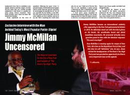Jimmy McMillan Uncensored - ZMAN Magazine