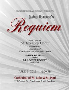 John Rutter's Requiem - Grace Episcopal Church