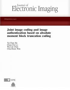 Joint image coding and image authentication ... - Semantic Scholar