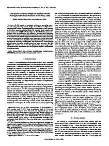 Joint Source and Relay Design for Multiuser MIMO ... - Semantic Scholar