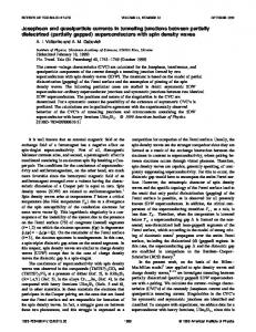 Josephson and quasiparticle currents in tunneling junctions between ...