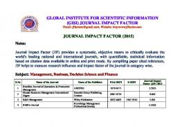 journal impact factor journal impact factor - Iraqi Journal for Electrical ...