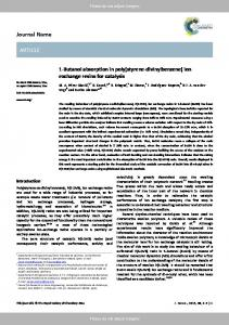 Journal Name ARTICLE - Core