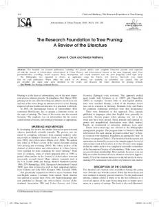 Journal of Arboriculture & Urban Forestry - International Society of ...