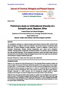 Journal of Chemical, Biological and Physical Sciences Preliminary ... - t