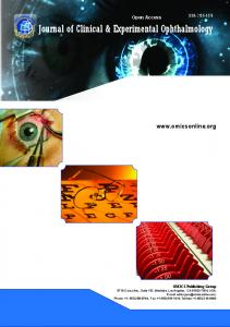 Journal of Clinical & Experimental Ophthalmology - OMICS International