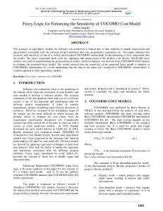 Journal of Computing::Fuzzy Logic for Enhancing the Sensitivity of ...
