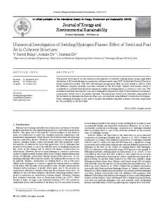 Journal of Energy and Environmental Sustainability