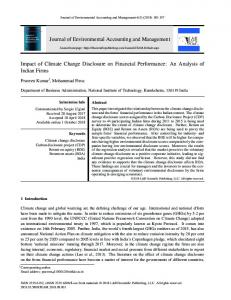 Journal of Environmental Accounting and