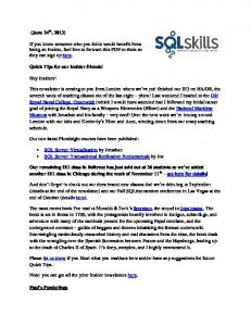 (June 24 , 2013) If you know someone who you ... - SQLskills.com