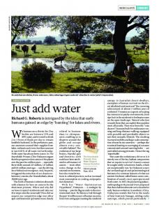 Just add water - Nature