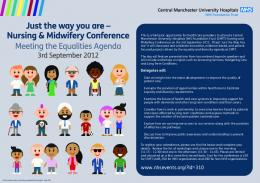 Just the way you are - Central Manchester University Hospitals ...