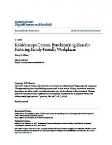 Kaleidoscope Careers: Benchmarking Ideas for Fostering Family ...