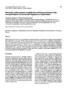 Karyology, nuclear genome quantification and ... - Springer Link