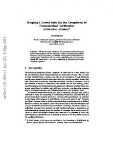 Keeping a Crowd Safe: On the Complexity of Parameterized