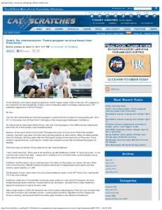 Kentucky Blog - University of Kentucky Official Athletic Site