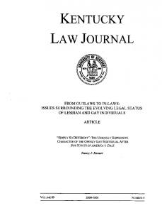 Kentucky - SSRN papers