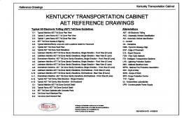 kentucky transportation cabinet aet reference drawings