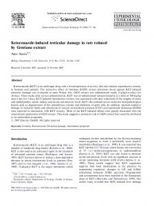 Ketoconazole-induced testicular damage in rats