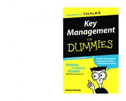 Key Management For Dummies, Thales e-Security Special Edition