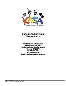 Killer Business Plan Template