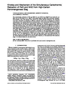 Kinetics and Mechanism of the Simultaneous ... - Springer Link