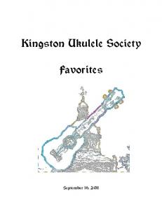 Kingston Ukulele Society Favorites