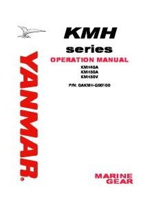 yanmar 6by2 260 service manual