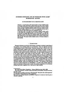 KUMMER SURFACES AND K3 SURFACES WITH - Mathématiques ...