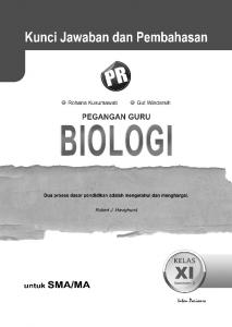 Kunci Jawaban Biologi 11B - WordPress.com