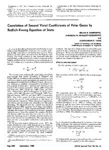 kwong equation of state - Wiley Online Library