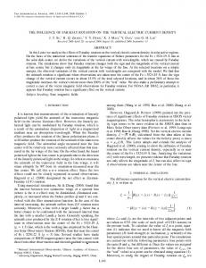 l141 the influence of faraday rotation on the vertical ... - IOPscience