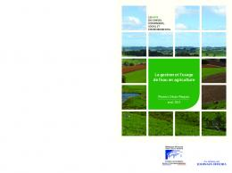 La gestion et l'usage de l'eau en agriculture - La Documentation ...