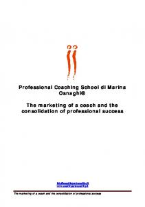 La vendita del coaching corso base II - Coaching and coaching