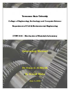 Lab Manual - Tennessee State University