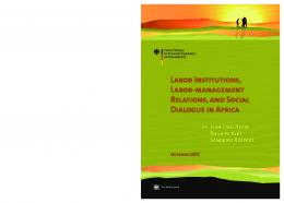 Labor Institutions, Labor-Management Relations, and ... - CiteSeerX