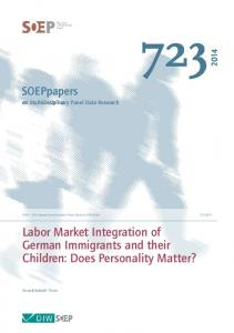 Labor Market Integration of German Immigrants and their ... - DIW Berlin
